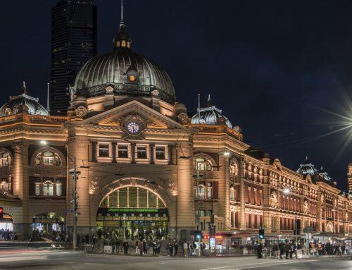 Flinders St Station Administration Building, Melbourne, VIC, Australia