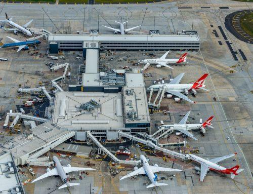 Melbourne Airport, Melbourne, VIC, Australia